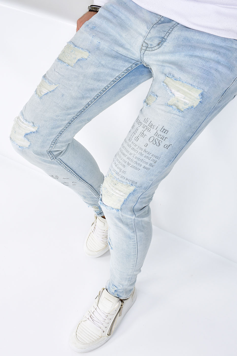 Skinny Fit Jeans Blue - 66103