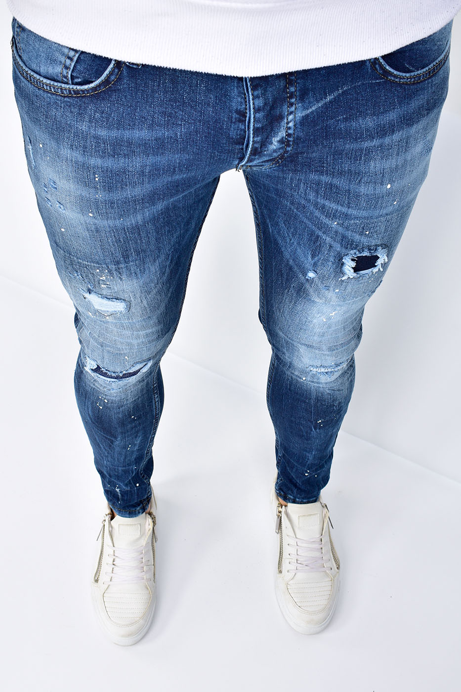 Super Skinny Fit Jeans Blue - U9548