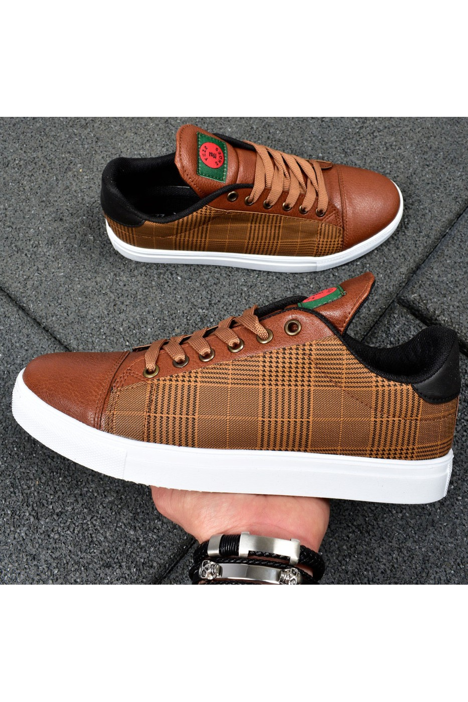 Yezz Sneakers Brown - 015